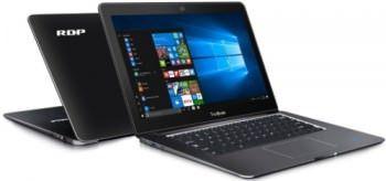RDP ThinBook 1430b Netbook (14.1 Inch   Atom Quad Core X5   2 GB   Windows 10   32 GB SSD) Price in India