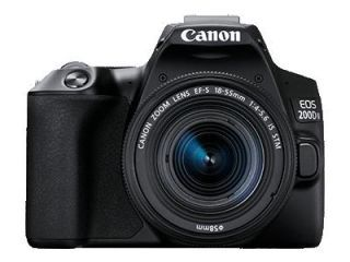 Canon EOS 200D II DSLR Camera (EF-S 18-55mm IS STM and EF-S 55-250mm IS STM Kit Lens) Price in India