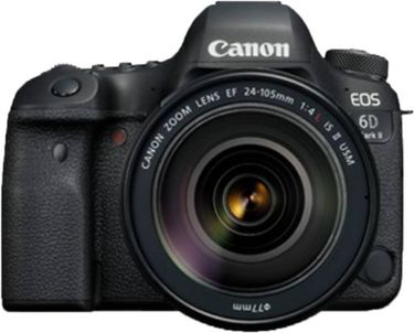 Canon EOS 6D Mark II DSLR Camera (EF 24-105mm f/4L IS II USM Kit Lens) Price in India