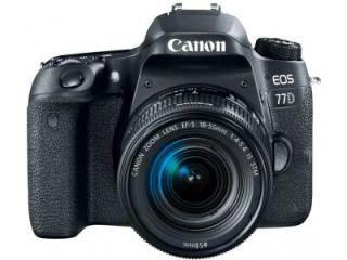 Canon EOS 77D DSLR Camera (EF-S 18-55mm f/4-f/5.6 IS STM Kit Lens) Price in India