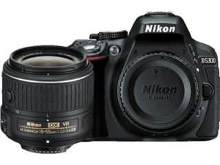 Nikon D5300 DSLR Camera (AF-P DX 18-55mm f/3.5-f/5.6G VR Kit Lens) Price in India