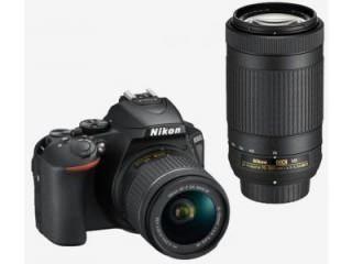 Nikon D5600 DSLR Camera (AF-P DX 18-55mm f/3.5-f/5.6G VR and AF-P DX 70-300mm f/4.5-f/6.3G ED VR Dual Kit Lens) Price in India