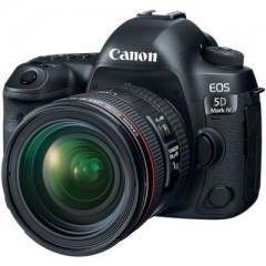 Canon EOS 5D Mark IV DSLR Camera (EF 24-70mm f/4L IS USM Kit Lens) Price in India