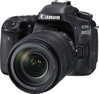 Canon EOS 80D DSLR Camera (EF-S 18-135mm f/3.5-f/5.6 IS USM Kit Lens) Price in India