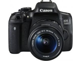 Canon EOS 750D Kit DSLR Camera (EF-S18-55mm f/3.5-f/3.6 IS STM) Price in India