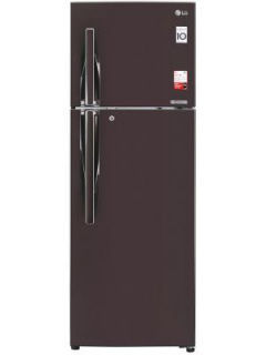 LG GL-T372JRS3 335 L 3 Star Inverter Frost Free Double Door Refrigerator Price in India