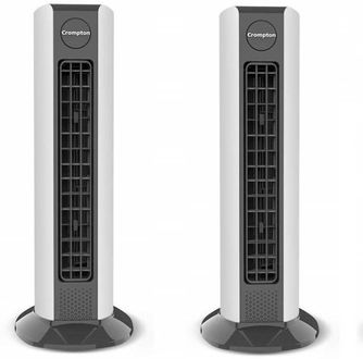 Crompton Air Buddy Kitchen Tower Fan (Pack of 2) Price in India