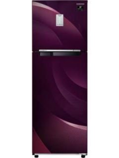 Samsung RT30T37534R 275 L 3 Star Inverter Frost Free Double Door Refrigerator Price in India