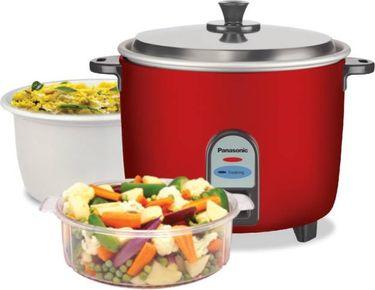 Panasonic SR-WA10-CMB 1L Electric Rice Cooker Price in India