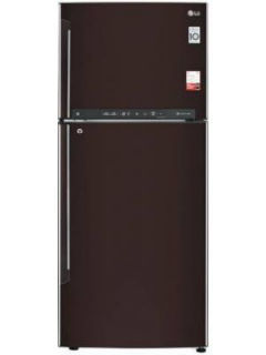 LG GL-T432FRS2 437 L 2 Star Inverter Direct Cool Double Door Refrigerator Price in India