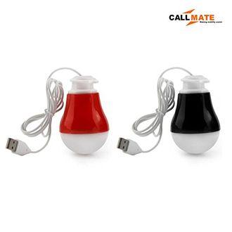 Callmate SZN01 2W USB LED Bulb (Set of 2) Price in India