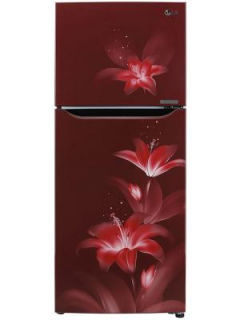 LG GL-T292SRGY 260 L 2 Star Inverter Frost Free Double Door Refrigerator Price in India