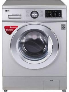 LG 8 Kg Fully Automatic Front Load Washing Machine (FHM1208ZDL) Price in India