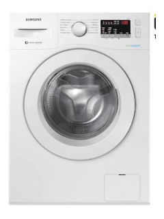 Samsung 6 Kg Fully Automatic Front Load Washing Machine (WW61R20EKMW) Price in India