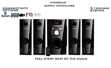 Krisons Eiffel 4.1 Home Theatre System Price in India