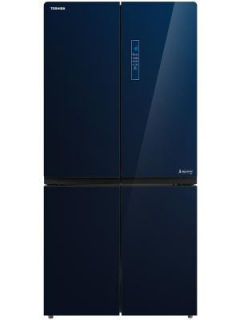 Toshiba GR-RF646WE 650 L Inverter Frost Free Side By Side Door Refrigerator Price in India