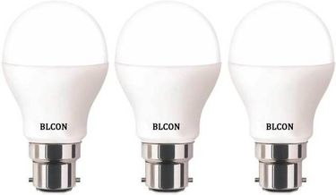 Blcon 7W Round B22 LED Bulb (White, Pack of 3) Price in India