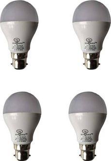 Roshanik 5W Round B22 LED Bulb (White, Pack of 4) Price in India