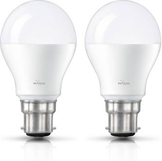 Magik 14W Round B22 LED Bulb (White, Pack of 2) Price in India
