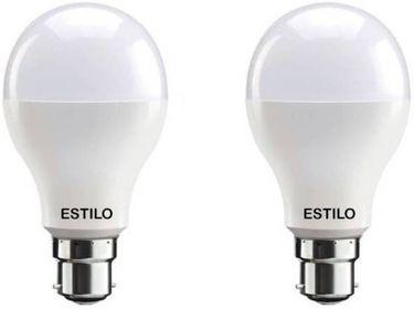 Estilo 12W Standard B22 LED Bulb (White, Pack of 2) Price in India