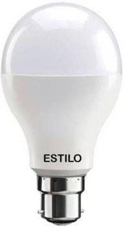 Estilo 12W Round B22 LED Bulb (White, Pack of 6) Price in India