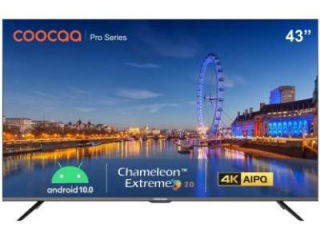 Cooaa 43S6G Pro 43 inch UHD Smart LED TV Price in India