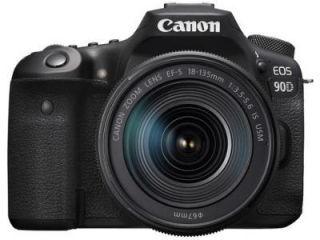 Canon EOS 90D DSLR Camera (EF-S 18-135mm f/3.5-f/5.6 IS USM Kit Lens) Price in India