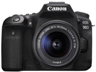 Canon EOS 90D DSLR Camera (EF-S 18-55mm f/3.5-f/5.6 IS STM Kit Lens) Price in India