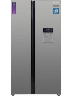 Sansui 520ISSNS 544 L Inverter Frost Free Side By Side Door Refrigerator Price in India