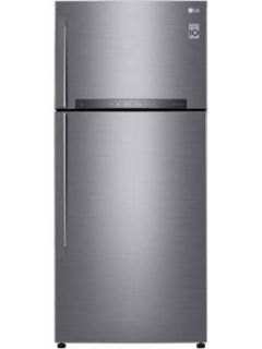 LG GN-H602HLHQ 516 L 3 Star Inverter Frost Free Double Door Refrigerator Price in India
