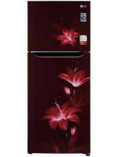 LG GL-N292BRGY 260 L 2 Star Inverter Frost Free Double Door Refrigerator Price in India