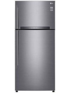 LG GN-H702HLHQ 547 L 3 Star Inverter Frost Free Double Door Refrigerator Price in India
