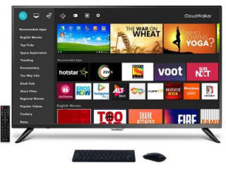 Cloudwalker 43SUA9 43 inch UHD Smart LED TV Price in India