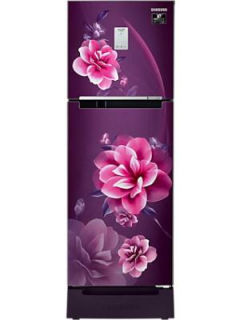 Samsung RT28A3C22CR 244 L 2 Star Inverter Frost Free Double Door Refrigerator Price in India