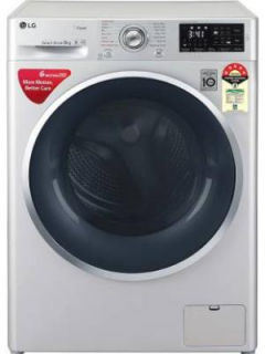 LG 8 Kg Fully Automatic Front Load Washing Machine (FHT1408ANL) Price in India