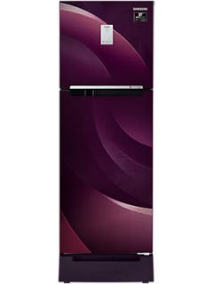 Samsung RT28A3C234R 244 L 3 Star Inverter Frost Free Double Door Refrigerator Price in India