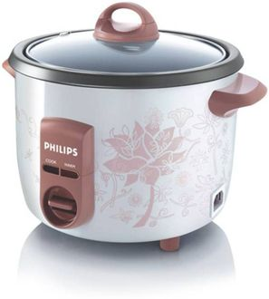 Philips HD4711 1L Electric Rice Cooker Price in India