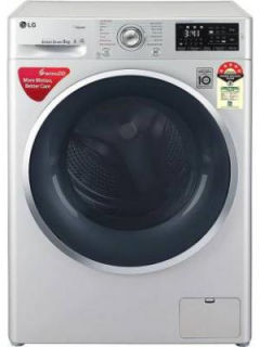 LG 8 Kg Fully Automatic Front Load Washing Machine (FHT1408ZNL) Price in India