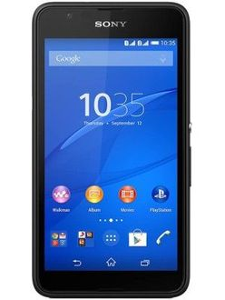 Sony Xperia E4 Dual Price in India