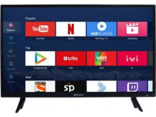 Micromax 32 CANVAS 5V 32 inch HD ready Smart LED TV Price in India