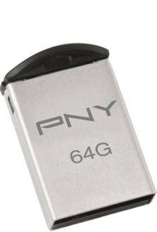 PNY Metal Attache 64GB USB 2.0 Pen Drive Price in India