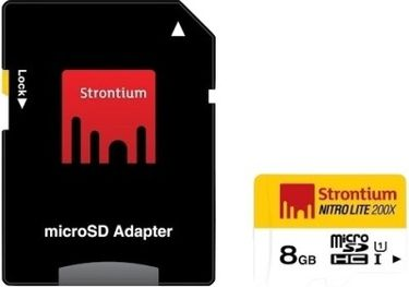 Strontium Nitro 8GB Class 10 MicroSDHC Memory Card Price in India