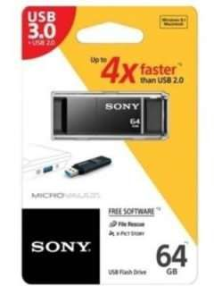 Sony USM-64X/B 64GB USB 3.0 Pen Drive Price in India