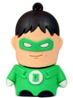 Zeztee Green Lantern Cartoon Character Shape 8GB USB 2.0 Pen Drive Price in India