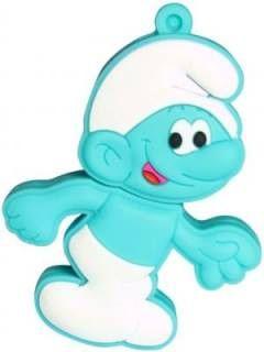Zeztee Green Smurf Cartoon Character 16GB USB 2.0 Pen Drive Price in India