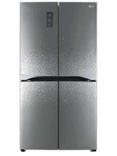 LG GR-M24FWAHL 725 L 4 Star Frost Free Side By Side Door Refrigerator Price in India