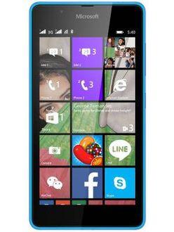 Microsoft Lumia 540 Dual SIM Price in India