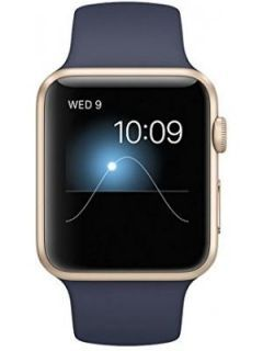 Apple Watch Sport Silver Aluminium case white sport Band 42mm Price in India