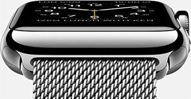 Apple Watch Sport Gold Aluminium case Antique white sport Band 38mm Price in India