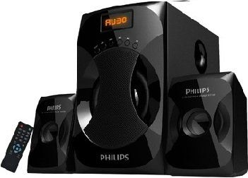 Philips Explode MMS4040F 2.1 Channel Multimedia Speakers Price in India